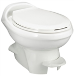 Thetford 34438 Aqua-Magic Style Plus Low Profile RV Toilet - Bone White