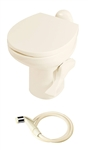 Thetford 42064 Aqua-Magic Style II Ceramic RV Toilet - High Profile - With Sprayer - Bone
