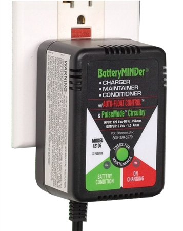 BatteryMINDer 6 Volt Battery Charger