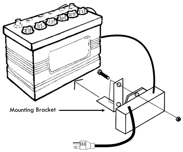 BatteryMINDer 12151 12 Volt OnBoard Battery Charger