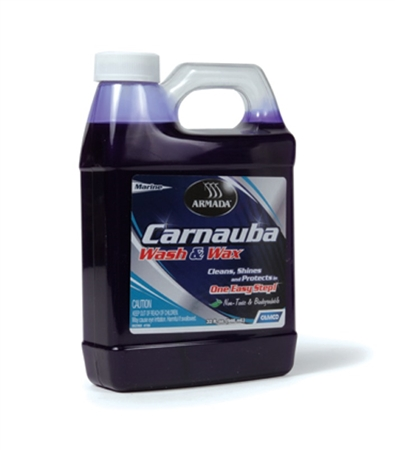 Camco 40922 Carnauba RV Wash & Wax - 32 Oz