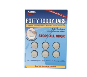 Valterra Q5000VP Potty Toddy Tabs 6 Pack