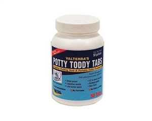 Valterra Q5004 Potty Toddy Tabs 50 Pack