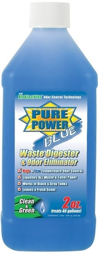 Valterra Pure Power Blue Digester & Odor Eliminator 16 Oz