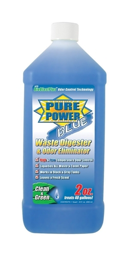 Pure Power Blue Digester & Odor Eliminator 32 Oz