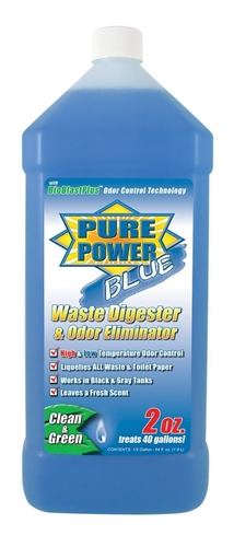 Valterra V23003 Pure Power Blue Waste Digester & Odor Eliminator 64 oz.
