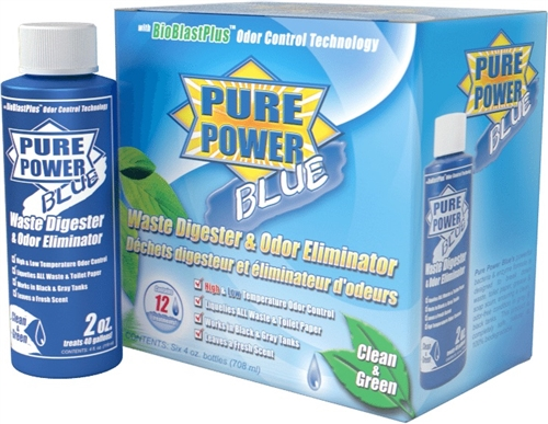 Pure Power Blue Digester & Odor Eliminator 6-Pack