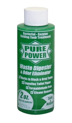 Valterra V22004 Pure Power Waste Digester And Odor Eliminator - 4 Oz