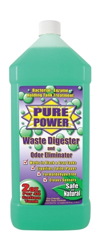Valterra V22003 Pure Power Waste Digester & Odor Eliminator 64 Oz