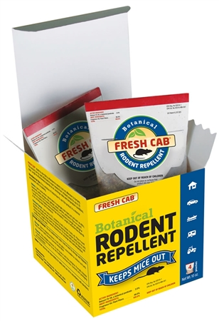 AP Products 020-126 Fresh Cab Rodent Repellent (4 Pouch Box)