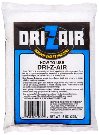 Dri-Z-Air DZA-13 13 Ounce Dehumidifier Refill Air Crystals