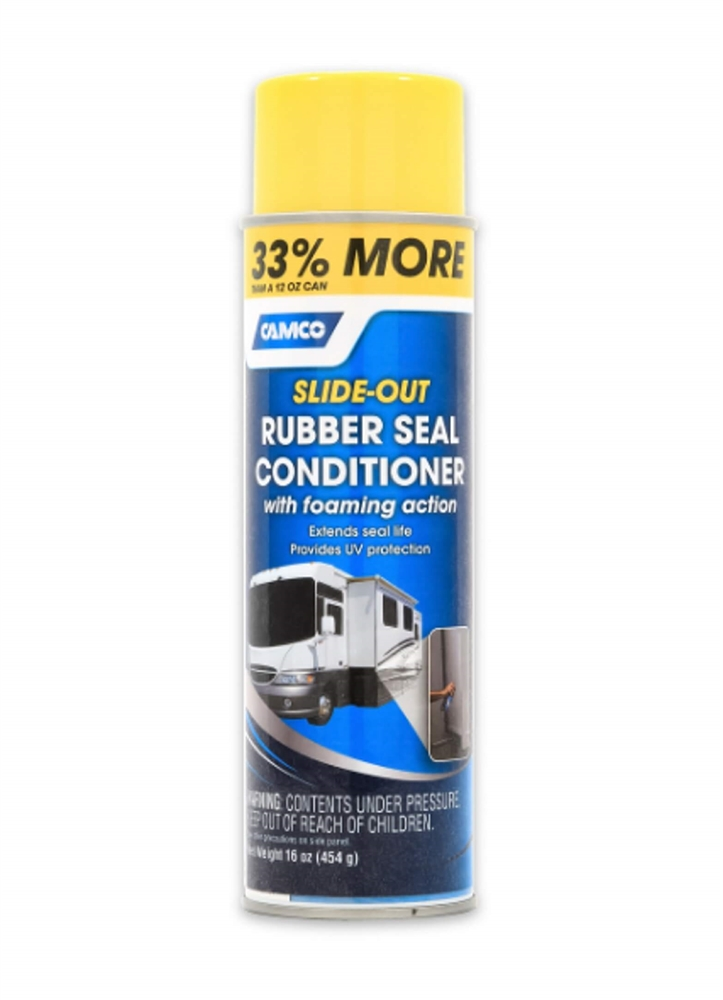 Camco 41135 Full Timer S Choice Rv Slide Out Rubber Seal Conditioner 16 Oz