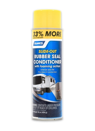 Camco 41135 Full Timer's Choice RV Slide Out Rubber Seal Conditioner