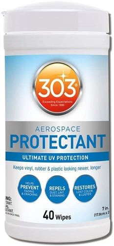 303 30321 Aerospace Protectant - 40 Wipes