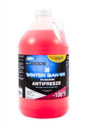 Camco 30787 Winter Ban Antifreeze -100°F