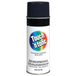 AP Products 003-55275 Touch 'N Tone Multi-Purpose Spray Paint - Flat Black - 10 Oz