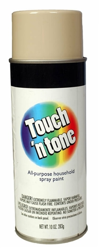 AP Products 003-55285 Touch 'N Tone Multi-Purpose Spray Paint - Almond - 10 Oz