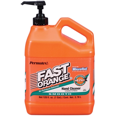 Permatex  Fast Orange Hand Cleaner W/Pump - 1 Gallon