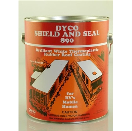 Dyco Shield & Seal RV Roof Coating - 1 Gallon