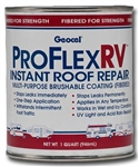Geocel Pro Flex RV 1 Quart Instant Roof Repair - White