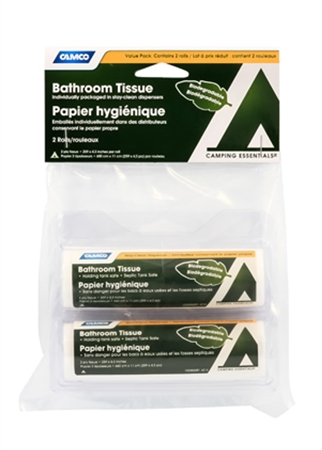 Camco 51358 RV Bathroom Tissue Travel Pack