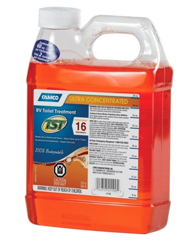 Camco TST Orange RV Waste Tank Treatment - 32Oz