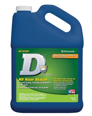 Dometic D1201001 Easy Pour Cap RV Roof Sealer - 1 Gal