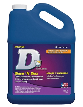 Dometic D1207001 Heavy-Duty Multi-Purpose Wash N Wax