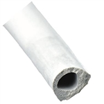 "AP Products 018-204 1/2"" x 3/8"" Non-Ribbed D Seal With Tape - White"