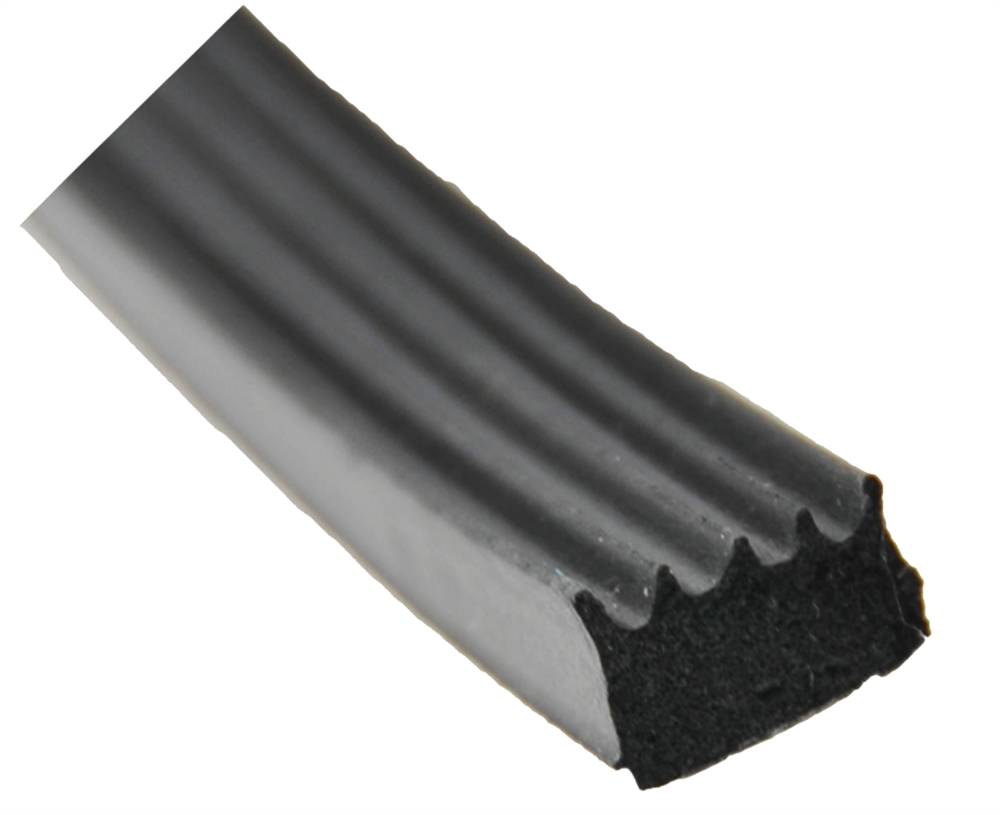 AP Products 018-855 Ribbed Foam Seal With Tape - 1/2