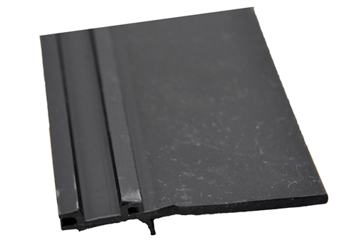 "AP Products 018-316 Black EK Slide-Out Seal Base With 2 7/8"" Wiper - 1/2"" X 3 2/3"" X 35'"