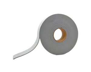 "AP Products 018-3162530 Grey Mylar Backed PVC Foam Tape - 3/16"" x 2 1/2"" x 30'"