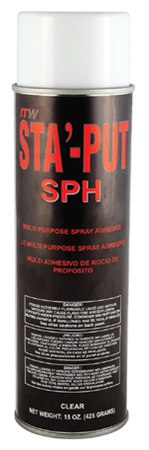 AP Products 001-SPH15ACC Sta'-Put II Polystyrene Foam Spray Adhesive - 15 Oz