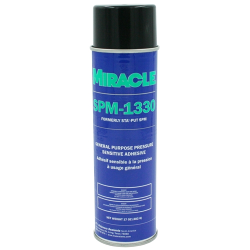 AP Products 001-SPM17ACC Sta'-Put II Polystyrene Foam Spray Adhesive - 17 Oz