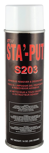 AP Products 001-S203 Sta'-Put II Adhesive Remover & Degreaser - 14 Oz