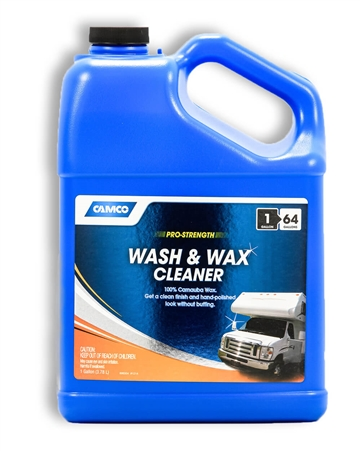 Camco 40498 Pro-Strength RV Wash & Wax 1 gal