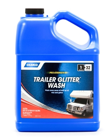 Camco Trailer Glitter Wash - 1 Gallon
