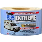 "CoFair Products Quick Roof Extreme RV Repair Tape - White 4"" x 75'"