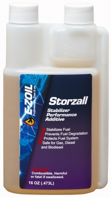 E-ZOIL S80-16 Storzall Fuel Stabilizer Additive - 16 Oz