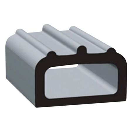 "Clean Seal 1705H2-50 5/8"" x 0.400"" EDPM D Seal With Tape - Black"