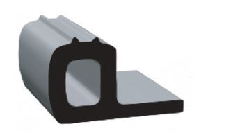 "Clean Seal 52346ST-50 P-Type Slide-Out Seal - 1-1/4"" x 0.8"""