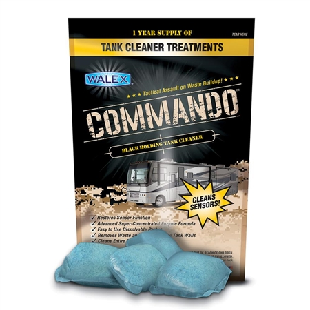 Walex CMDOBG Commando Black Holding Tank Cleaner
