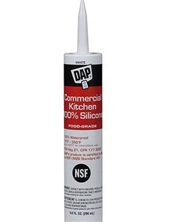 DAP 7079808656 RV Kitchen Silicone Sealant - White