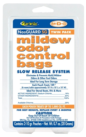 STAR BRITE 89950 Mold/Mildew Odor Control Slow Release - Twin Pack