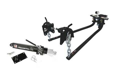 Eaz Lift Bent Bar Ready-to-Tow Weight Distributing Hitch Kit - 1000 lbs Max.