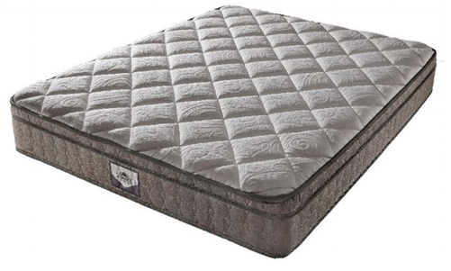 "Denver Mattress 326395 Short Queen Supreme Euro Top RV Mattress - 75"" x 60"" x 11"""