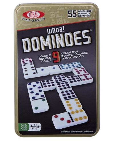 Fundex 5409 Professional Double Nine Dominoes