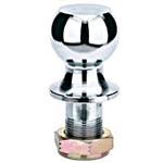 "B&W Hitches 2 5/16"" Chrome Hitch Ball 1 1/4"" Shank Dia. 16K Capacity"