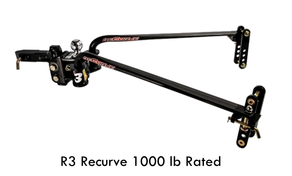 eaz lift 48752 recurve r3 weight distribution hitch 1000 lb rated
