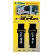 AP Products 006-6 Coil N' Wrap Awning Cinch Straps - 2 Pack